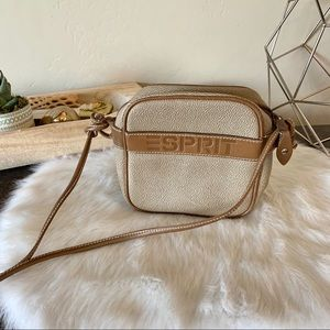 Vintage Eaprit crossbody leather purse